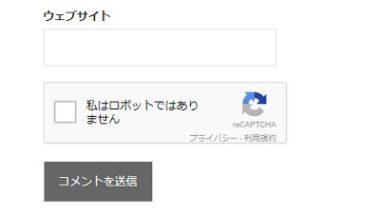 「コメント画像認証プラグイン Google reCAPTCHA を入れたら反映されず管理画面に入れない」を解決