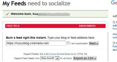 はてなブログに(WordPressも)RSSリーダーパーツを付ける(FeedBurner)