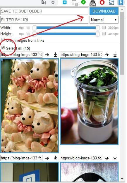 Chrome拡張機能[Image Downloader]の使い方